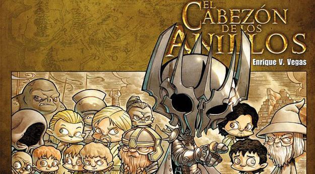 Fragmento de la portada de 'El Cabezón de los anillos'