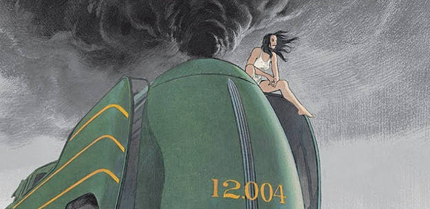 Fragmento de la portada del cómic 'La Douce', de François Schuiten
