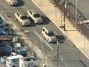 Frame grab shows aerial view of funeral procession for Whitney Houston in Newark