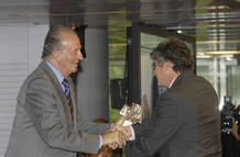 Fran Sevilla recibe el premio Rey de Espa&ntilde;a