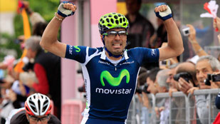 Fran Ventoso se impone en el sprint de Frosinone y repite victoria