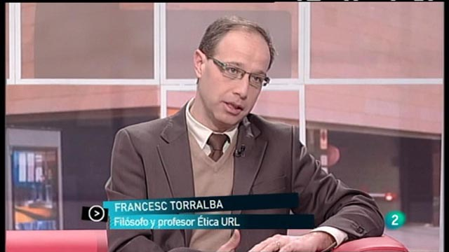 Para Todos La 2 - Entrevista: Francesc Torralba, profesor de Ética