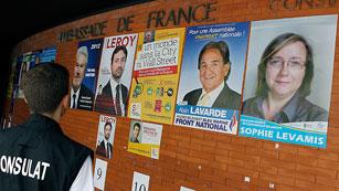 Ver vídeo  'Francia celebra la primera vuelta de las legislativas'