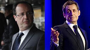 Ver vídeo  'Francia celebra la segunda vuelta de las presidenciales con Hollande como favorito'