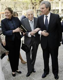 Francisco Ayala, el día de su 103º cumpleaños