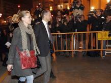 El ex secretario general del PP valenciano Ricardo Costa a su llegada al Tribunal Superior de Justicia de Valencia.
