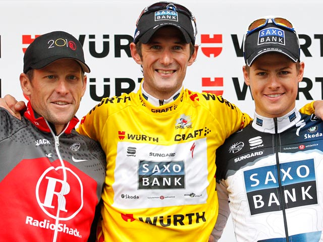 Franck Schleck triunfa en Suiza