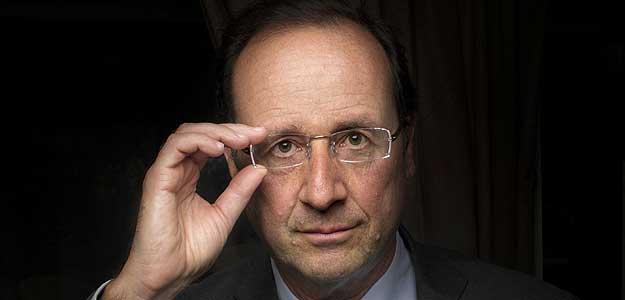François Hollande, el candidato tranquilo que aspira un destino único.