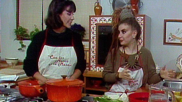 Con las manos en la masa - Elena Santonja y Alaska: Frijoles negros con arroz blanco