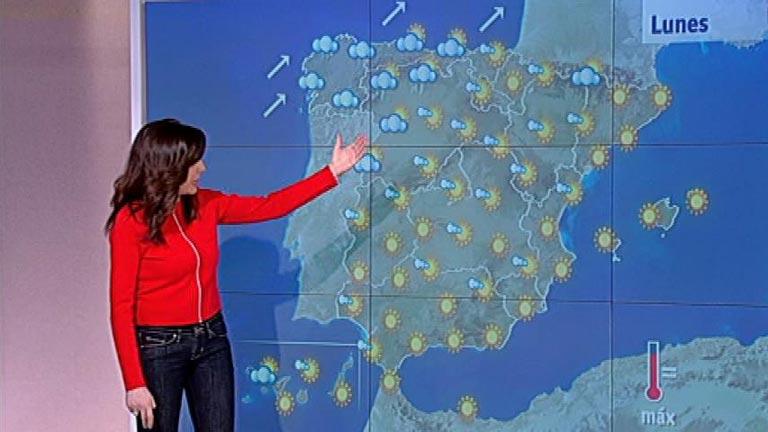 Frío en el centro peninsular y lluvias en el noroeste