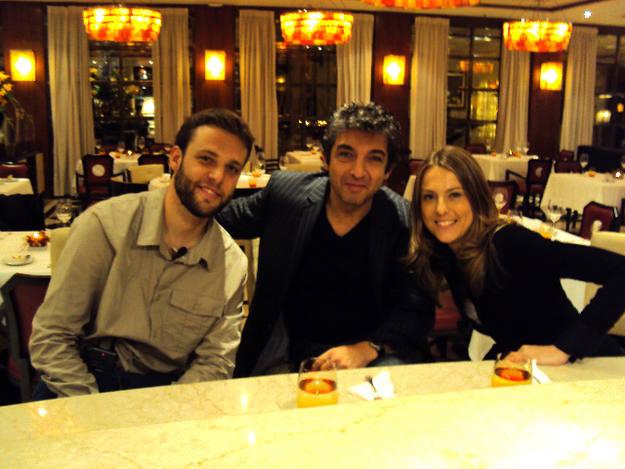 Fue una gran suerte encontrarnos con el actor Ricardo Darín