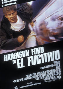 En 'El fugitivo' Harrison Ford es el Doctor Richard Kimble