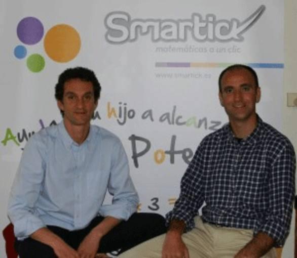 Los fundadores de Smartick, método online de matemáticas