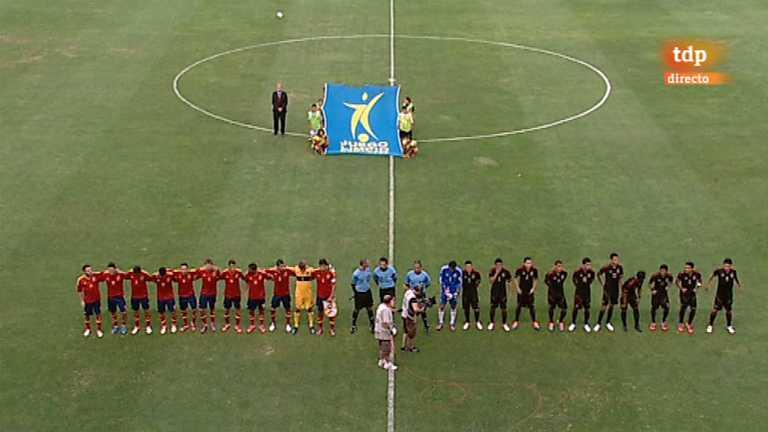 Fútbol - Preparación Preolímpica de la Selección española: España - México