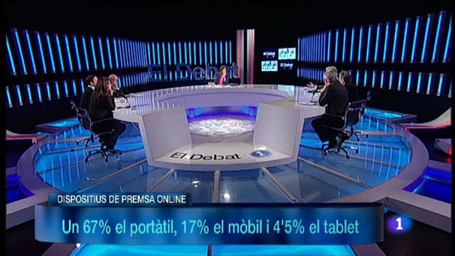 El Debat de La 1 - Debat : El futur de la premsa escrita