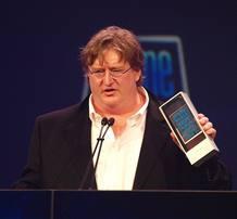 Gabe Newell, fundador de la compañía de videojuegos Valve