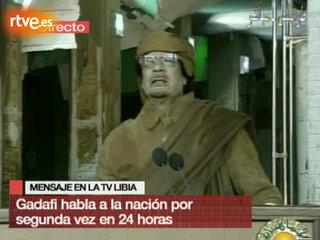 """Ver v?deo  'Gadafi: """"Voy a morir como mártir""""'"""