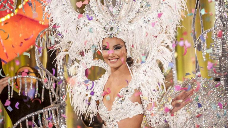 Gala de elección de la reina del carnaval de Las Palmas de Gran Canaria 2013