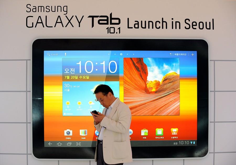 El Galaxy Tab 10.1, lanzado para frenar al iPad