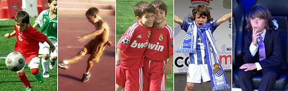 Galería de fotos: las imágenes más futboleras de los niños
