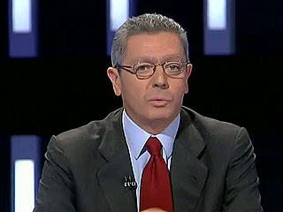 """Ver vídeo  'Gallardon dice en su última intervención que Rajoy gobernará """"desde la moderación y el diálogo, pero desde la firmeza""""'"""
