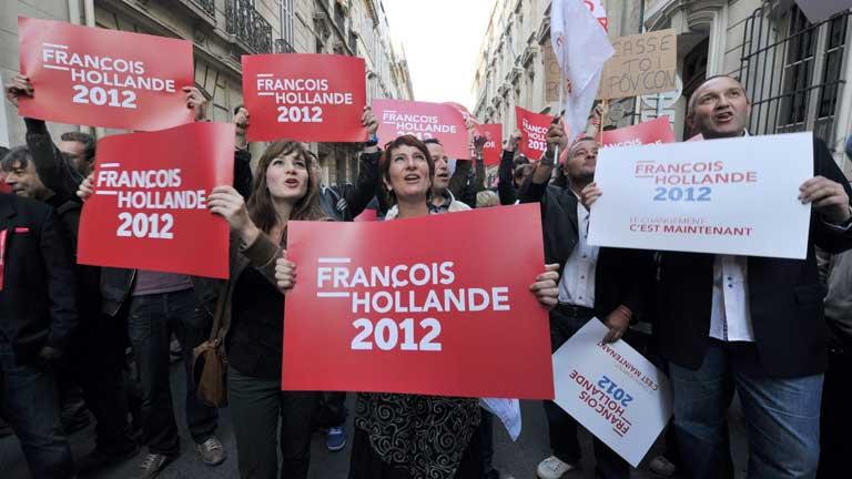 François Hollande gana las elecciones francesas