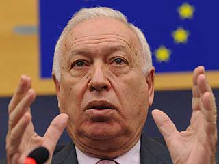 """Ver vídeo  'García-Margallo, sobre el embargo a Irán: """"España es uno de los países que más se sacrifica""""'"""