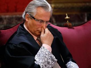Ver vídeo  'Garzón llega al Supremo para ser juzgado por las escuchas de Gürtel'