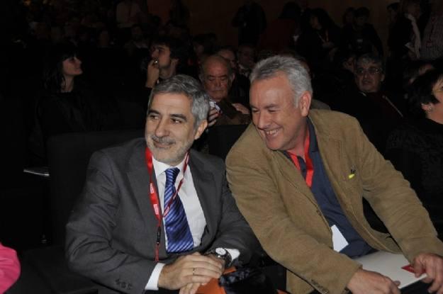 Gaspar Llamazares y Cayo Lara, nuevo coordinador general de IU