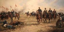 El general Prim en la batalla de Castillejos