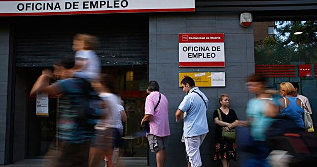 Zona retiro el desempleo sube un 1 7 y en el 9 2 de los for Oficina de desempleo