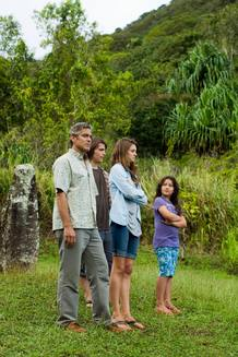 George Clooney interpreta a Matt King, un atribulado padre y esposo
