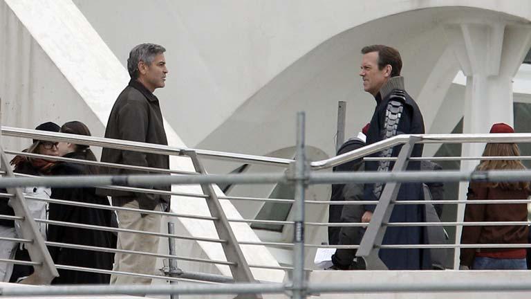 George Clooney rueda en Valencia 'Tomorrowland'