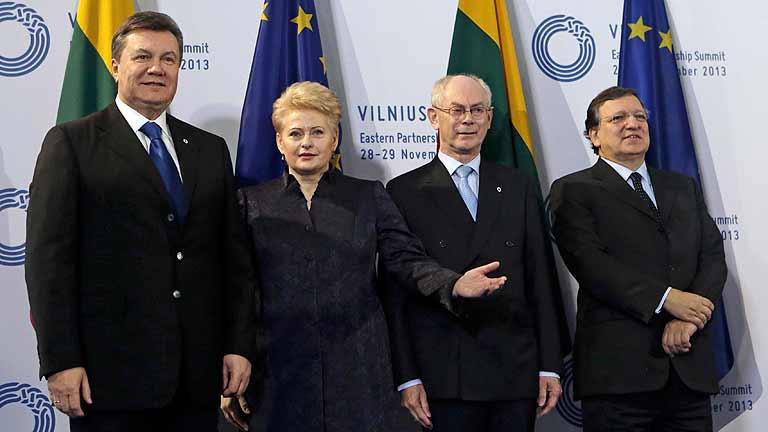 Georgia y Moldavia firman acuerdos de asociación con la UE durante la cumbre de Lituania