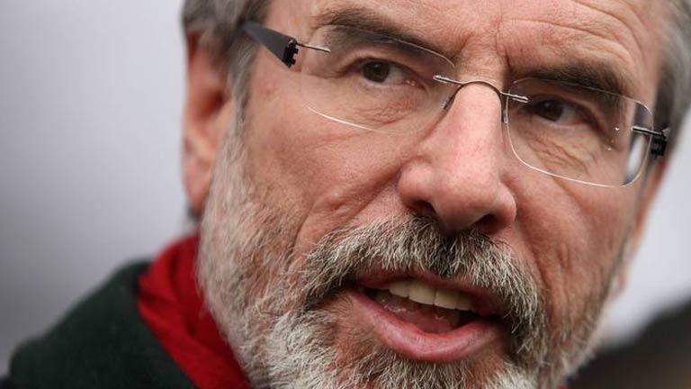 Gerry Adams, detenido por un asesinato del IRA en 1972