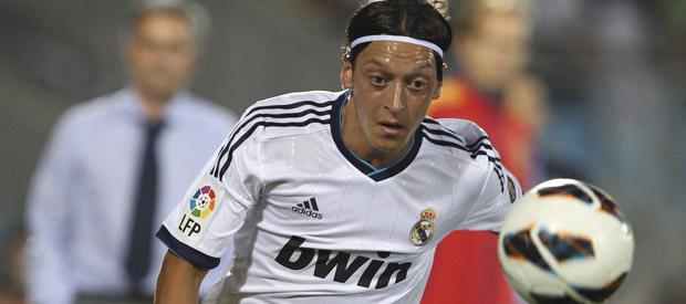 El centrocampista alemán del Real Madrid, Mesut Özil.