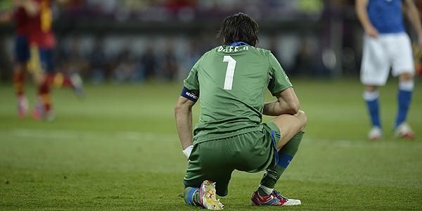 Gianluigi Buffon, portero de Italia