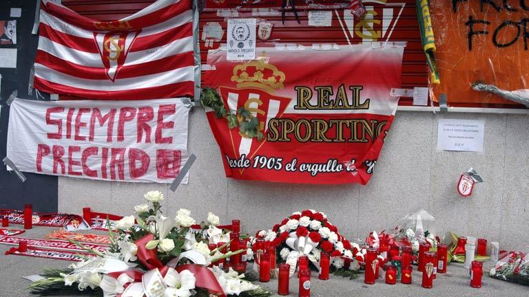 Gijón, Santander y Valencia recuerdan a Preciado