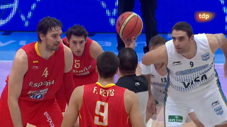 Baloncesto - Gira Preol&iacute;mpica de la Selecci&oacute;n espa&ntilde;ola: Espa&ntilde;a - Argentina