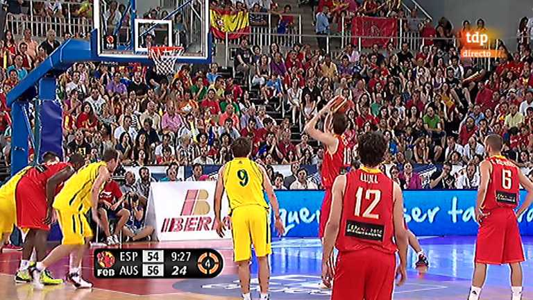 Baloncesto - Gira Preol&iacute;mpica de la Selecci&oacute;n espa&ntilde;ola: Espa&ntilde;a - Australia