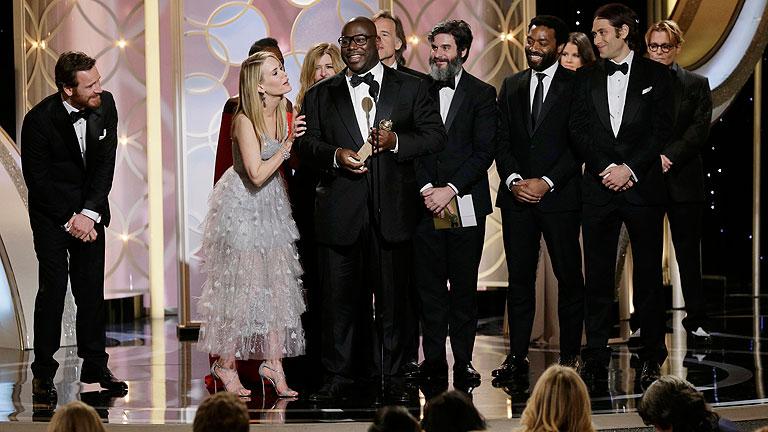 '12 años de esclavitud' mejor película dramática en los Globos de Oro 2014