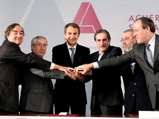 Ver v?deo  'El Gobierno y los agente sociales han firmado en La Moncloa el pacto social y económico'