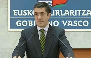 Ver v?deo  'El Gobierno vasco satisfecho por las detenciones de la cúpula de Segi.'