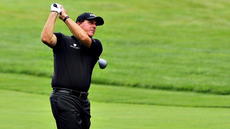 El golfista Phil Mickelson consigue 'el gran golpe'