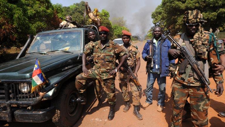 Golpe de estado rebelde en la República Centroafricana