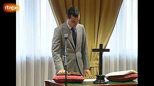 Ver vídeo  'González-Echenique, jurando el cargo como director general para el desarrollo de la Sociedad de la Información'