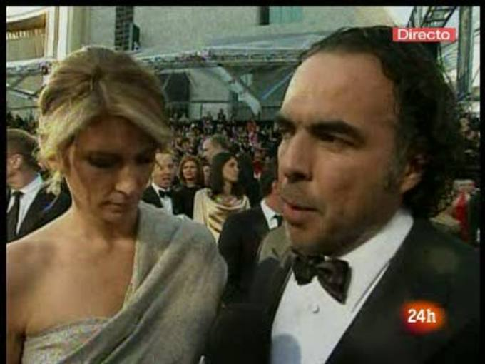 Gonz&aacute;lez I&ntilde;&aacute;rritu defiende 'Biutiful' en la alfombra roja