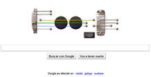 Google ha convertido su doodle en una guitarra el&eacute;ctrica para homenajear a Les Paul