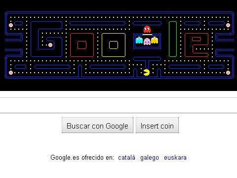 Ver v?deo  'Google homenajea a Pac-Man'
