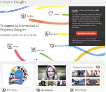 'Google+', la nueva red social del gigante de internet, est&aacute; en periodo de pruebas y disponible solo bajo invitaci&oacute;n